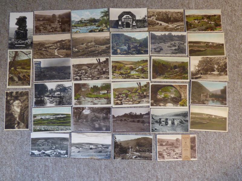 bu0094 - Dartmoor , Devon - 37 postcards - All Showing
