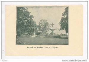 Souvenir de Geneve (Jardin Anglais), Pre 1905