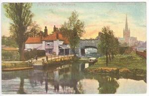 Pull's Ferry, Norwich (Norfolk), England, UK, PU-1904