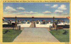 Pensacola Beach Pensacola FL Writing On Back