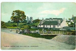 Jubilee Bridge & Old Castle, Barrhead
