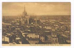 MILANO, Italy, 00-10s Panorama dal Campanile della Chiesa di San Carlo