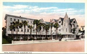 Florida St Augustine Hotel Magnolia 1920 Curteich