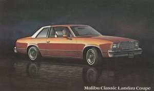 1978 CHEVROLET, Malibu Classic Landau Coupe