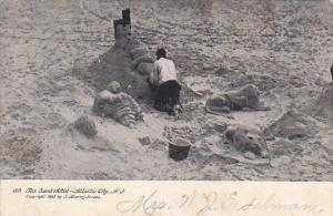 New Jersey Atlantic City The Sand Artist 1906
