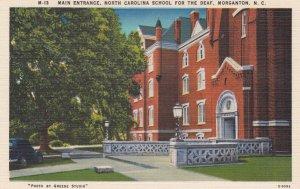 MORGANTON , North Carolina , 1930-40s ; School for the Deaf