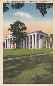 Virginia Lexington Washingt5on And Lee University