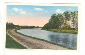 Scene on the Canal, Princeton,New Jersey,  00-10s