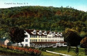 New York Roscoe The Campbell Inn Curteich