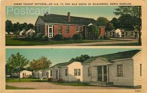 NC, Wilmington, North Carolina, Hobbs Tourist Cottages, Henry H. Aherns E-8947