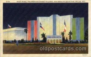 Pan American Exhibit Building Pan American Exposition 1937 Dallas Texas USA U...