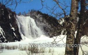 Quebec Canada, du Canada Falls of Montmorency, Churt Montmorency  Falls of Mo...