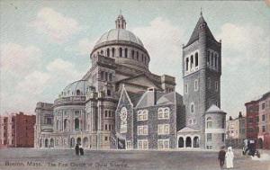 Massachustetts Boston The First Church Of Christ Scientist