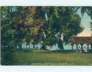 Divided-Back POSTCARD FROM Finger Lakes - Geneva New York NY HM7969