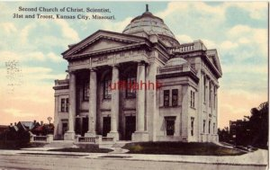 SECOND CHURCH OF CHRIST, SCIENTIST, 31st and Troost, KANSAS CITY. MO
