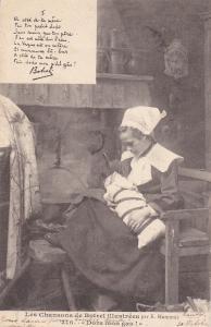 Mother & Child , France , PU-1902