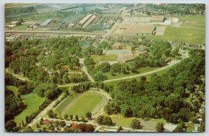 East Moline Illinois~High School~Soule Bowl Football Stadium~John Deere~1960s