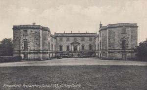 Ampleforth Preparatory School Gilling Castle Yorkshire Old Antique Postcard