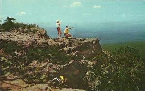 Lovers Leap Mount Magazine Mountain Arkansas Postcard