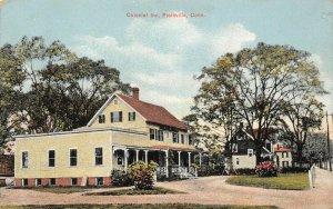 LP04 Plainville  Connecticut Postcard  Colonial Inn