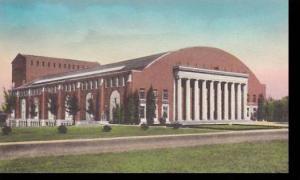 Nebraska Lincoln Coliseum University Of Nebraska Handcolored Albertype
