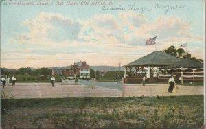 Columbia Country Clubhouse Vintage Souvenir Postcard