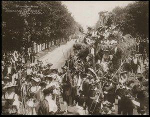 Austria 1908 Kaiser Franz Joseph Huldigungs Festival RPPC Thanksgiving Jos 94843