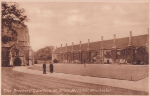 The Brothers Quarters St. Cross Hospital Winchester Postcard