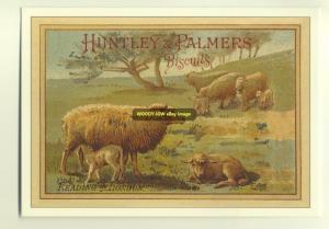 ad1945 - Huntley & Palmers Biscuits - modern advert postcard