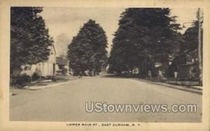 Lower Main St. East Durham NY Unused