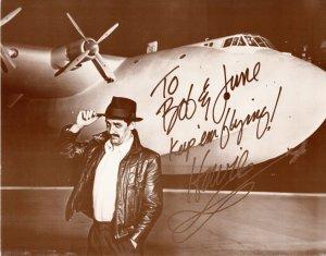 Howard Hughes - To Bob and June Keep 'em Flying - Huge Plane Aviation