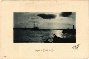 CPA AK Geiser 194 BIZERTE Entrée du Lac TUNISIA (705431)