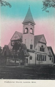 LUVERNE , Minnesota, 1900-10s , Presbyterian church