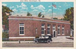 Maine Skowhegan Post Office