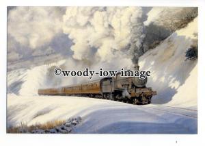 ry1544 - Mogul Class 6384 at Talerddig Bank. Artist - Ifor Pritchard - postcard