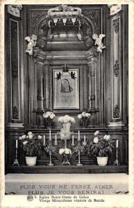 Belgium Eglise Notre-Dame de Grace, Vierge Miraculeuse Veneree de Berzee