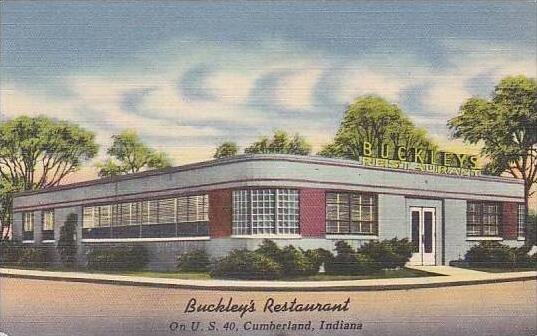 Indiana Cumberland Buckley's Restaurant