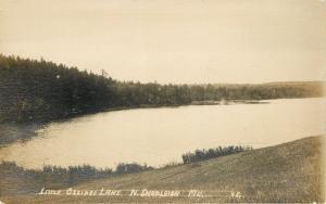 North Shapleigh Maine~Little Ossipee Lake~Shoreline~1913 Real Photo~RPPC