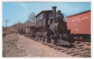 Baltimore Ohio Railroad Train 173 Camelback postcard