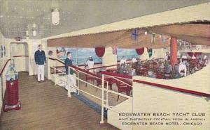 Edgewater Beach Yacht Club Edgewater Beach Hotel Chicago Illinois