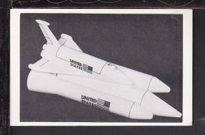 Space Shuttle Model Postcard