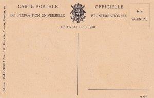 BRUXELLES, Belgium, 1910; Exposition De Bruxelles 1910, La Grande Place, Brux...