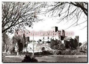 Postcard Modern Lourmarin Castle