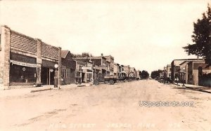 Main Street in Jasper, Minnesota