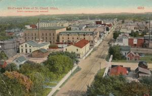 ST. CLOUD, Minnesota, PU-1916; Bird's Eye View