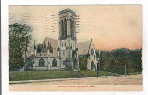 SPRINGFIELD, Massachusetts, PU-1909; Memorial Church