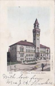 City Hall Worcester Massachusetts 1905