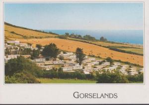 Gorselands Caravan Camping Site West Bexington On Sea Dorchester Postcard