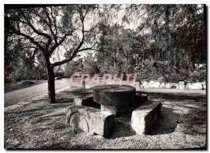 Postcard Modern Bormes Old Stone Table