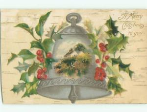 Divided-Back CHRISTMAS SCENE Great Postcard W8628